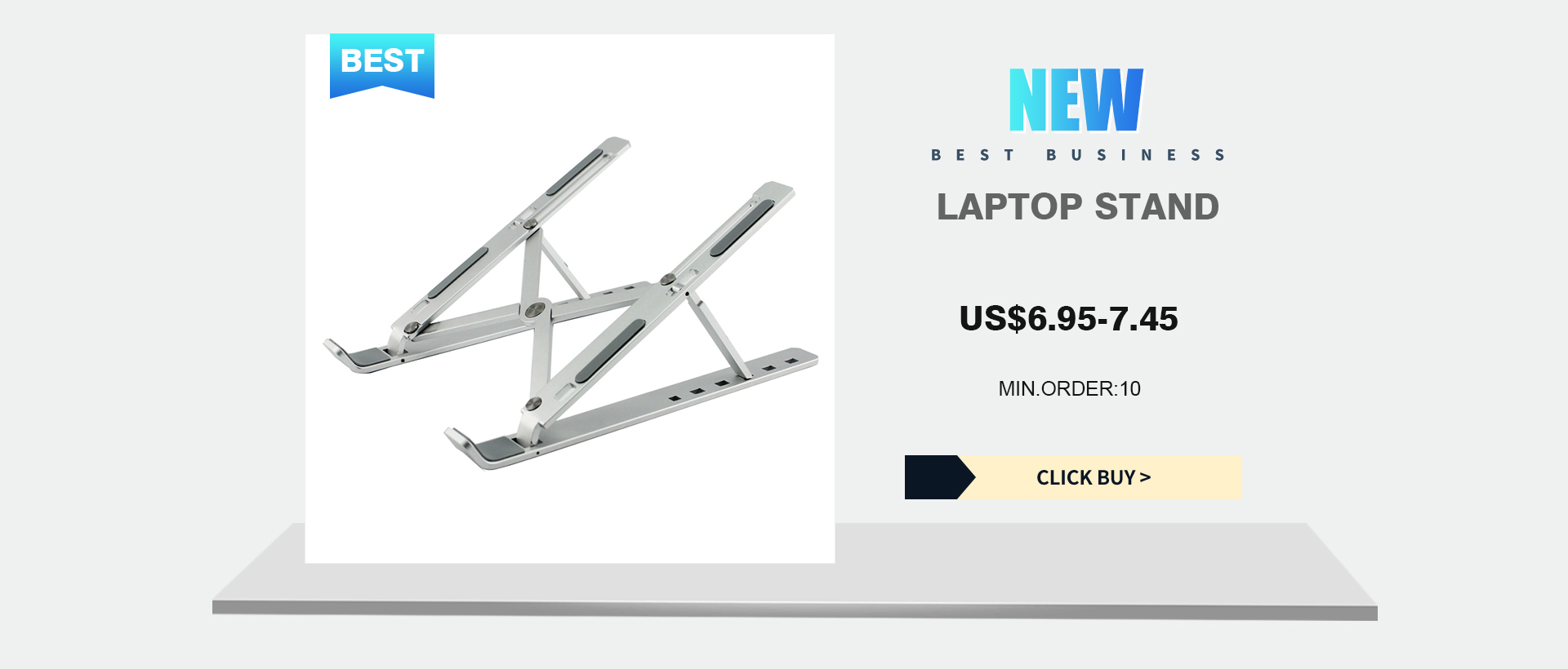 Aluminum Display Stand Tablet Stand Creative Heightening Base Laptop Stand