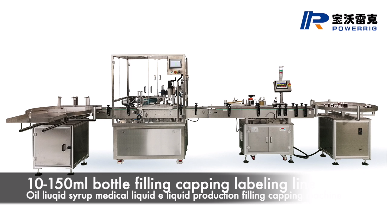 Automatic flu vaccine aseptic liquid bottle filling and capping machine