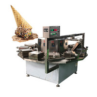 china supplier cone ice cream s full automatic roll chocolate wafer biscuit making machine