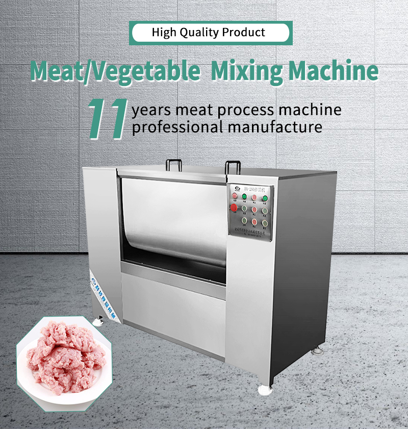 dough mixer with meat mincer