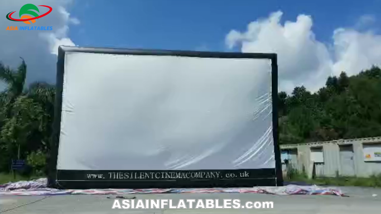 Cheap Inflatable movie screen, foldable projector screen, inflatable rear projection screen for sale