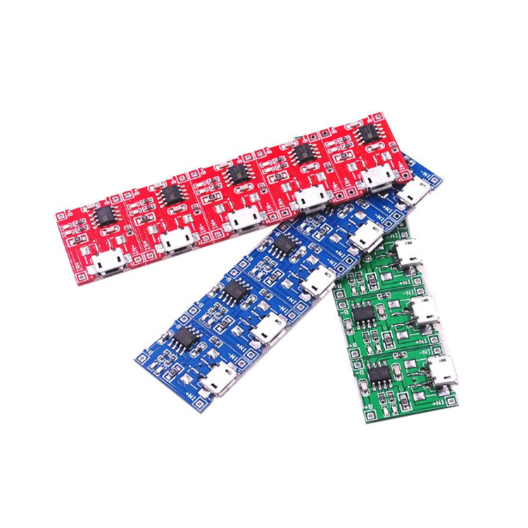 Smart Electronics Dual protection function Micro USB 5V 1A 18650 TP4056 lithium battery charger module charging board