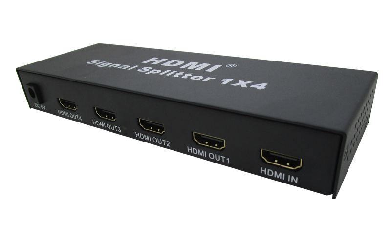 HDV-S4 1080P 3D Full HD 4 Cổng 4K HDMI Splitter 1X4 HDMI SPLITTER