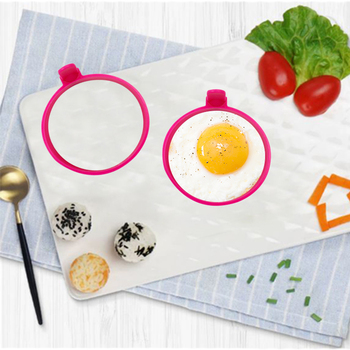 Factory Price BPA Free Egg Boil Heat Resistant Silicone Fried Egg Mould