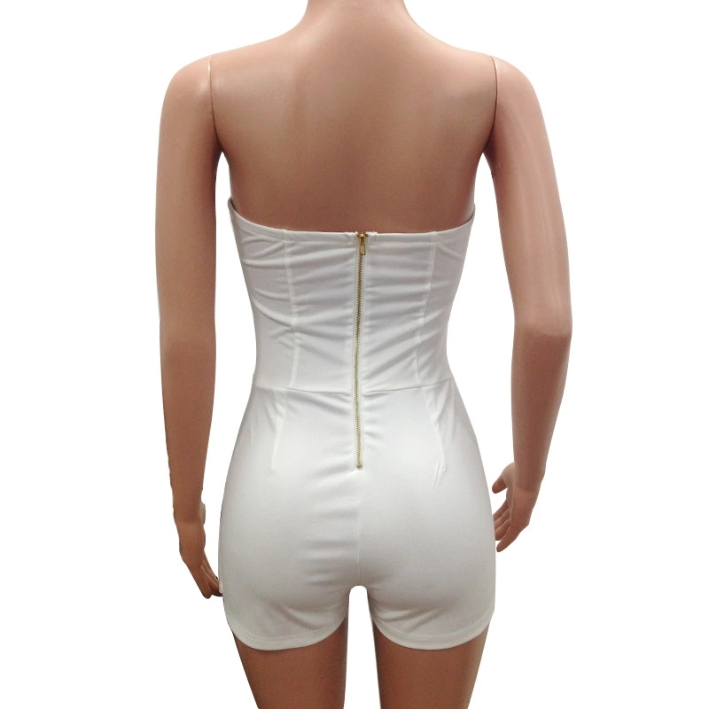 *YH-01633 2020 new arrivals Sexy Jumpsuits Wholesale Good quality Bestsale Strapless Cutout Side Summer Rompers Womens