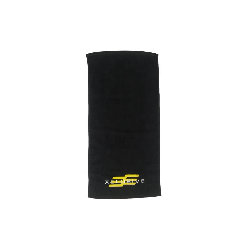 100% cotton towel hotel china supplier custom embroidery logo hotel face gym towels