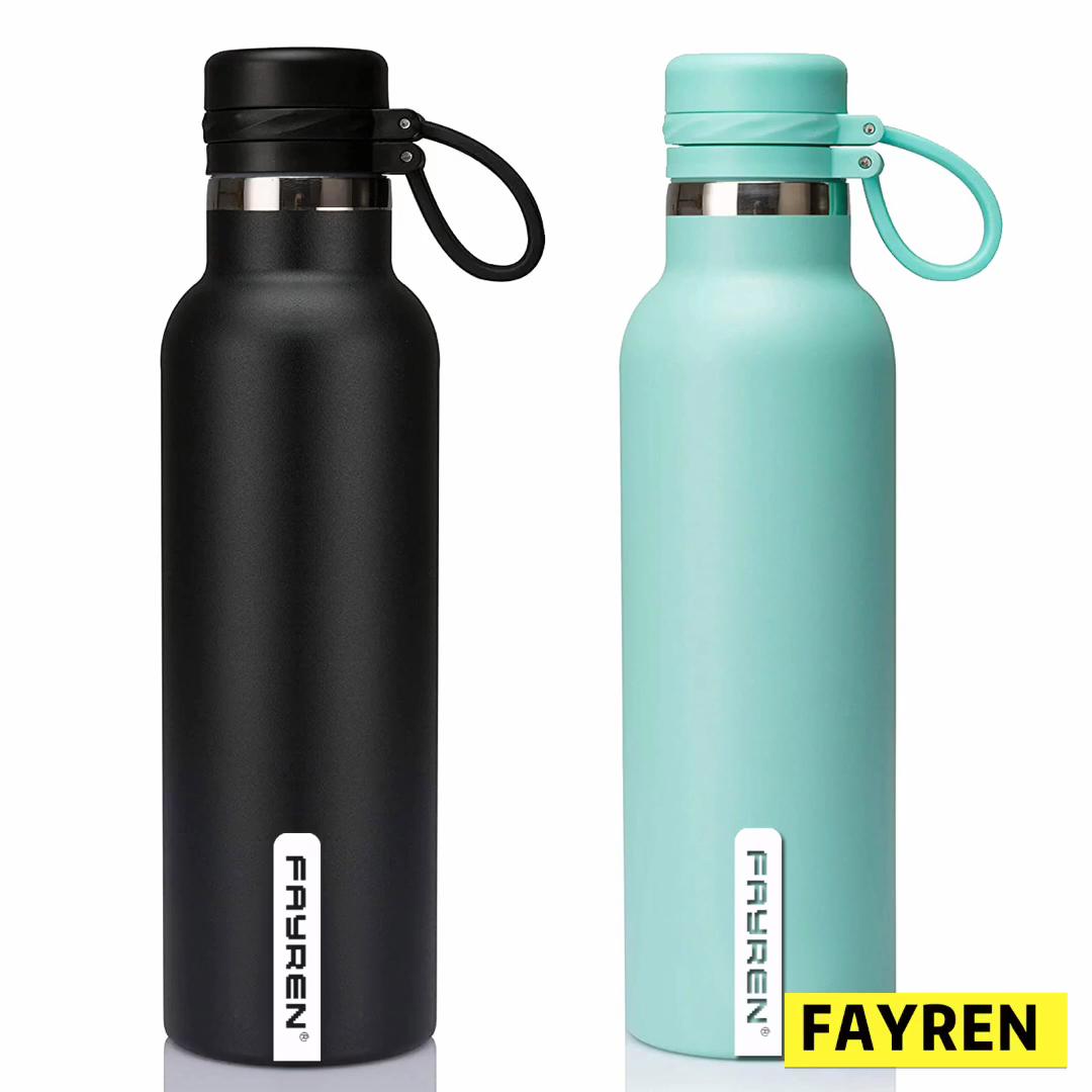 Custom colorful reusable 350ml stainless steel tritan non toxic plastic sport water bottle leak proof twist off