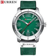 Модные мужские часы Curren брендовые роскошные кожаные кварцевые мужские часы повседневные спортивные часы мужские военные часы Relogio Masculino(Китай)