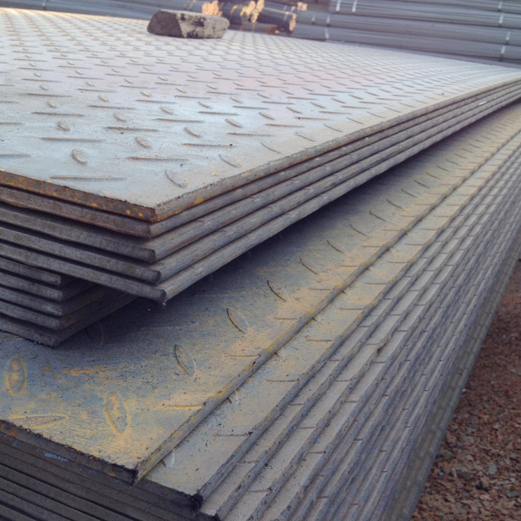 standard steel plate thickness/galvanized checker plate