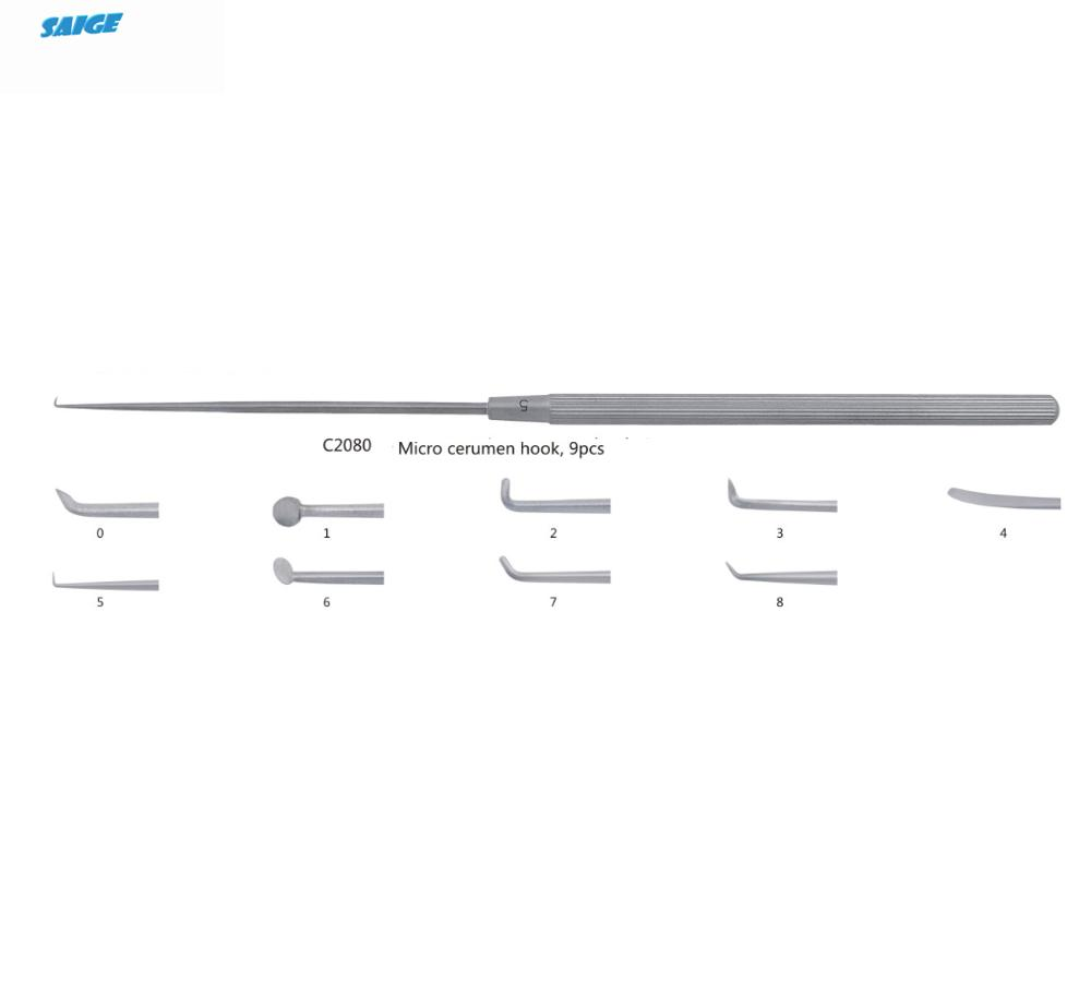 Otoscopy instruments/Drum head knife/Periosteotome for ear