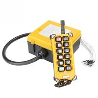 China High quality wireless crane remote control 12 key crane controller