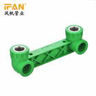 China factory supplier all customized Ifan ppr pipe plastic fitting PN 25 ppr double female elbow fpr pipeline connection