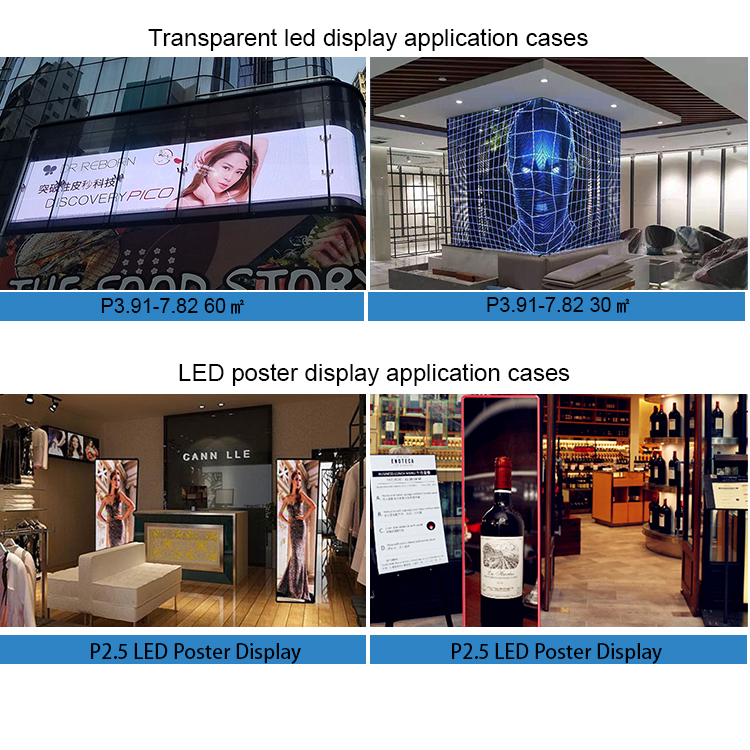 Easy front service full color outdoor led p6.35 display screen