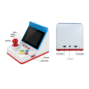 Portable Arcade FC Retro Gaming Handheld Console   Mini 3Inch  Multifunction  Video Games Built in 360 Games