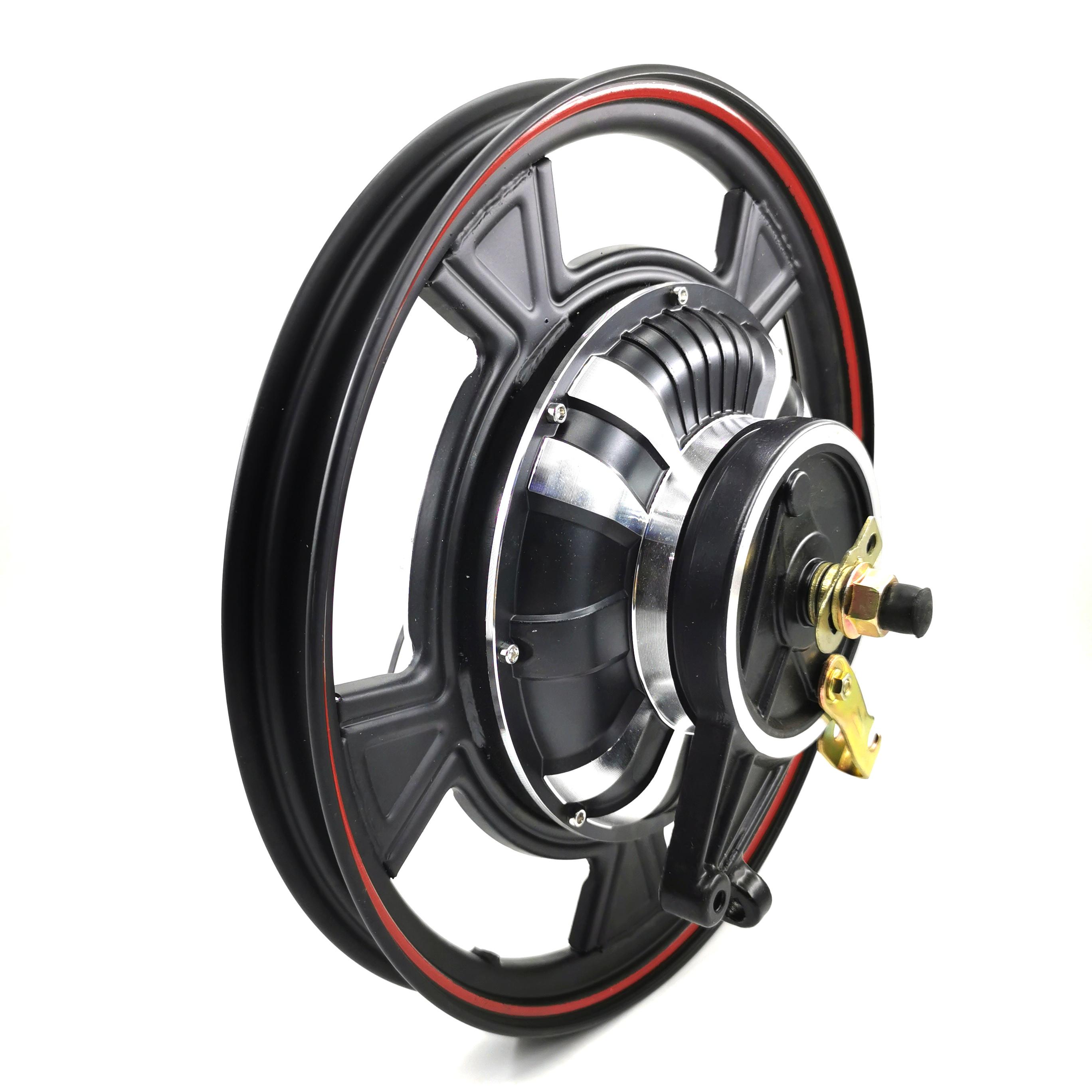 Hub Motor Sepeda Listrik, Hub DC Tanpa Sikat 16 Inci 800W 48V/60V