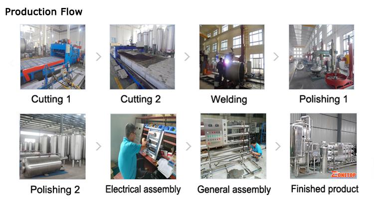 工場出荷時の価格飲料水フィルター浄水器、純 ro 水処理機/逆浸透水浄化システム