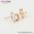 99540 Xuping fashion design Christmas new promotion heart-shaped zircon earrings gift