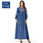 New Islamic Clothing Beautiful Girls Muslim Dress In Arab