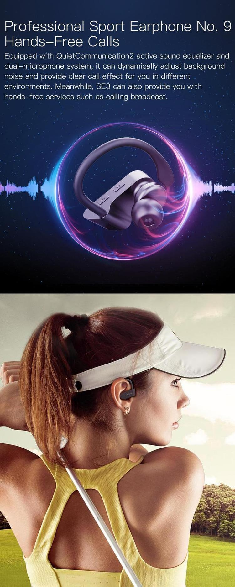 JAKCOM SE3 Professional Sport Wireless Earphone 2019 New Product Of Earphones Headphones mobile accessories wireless headset