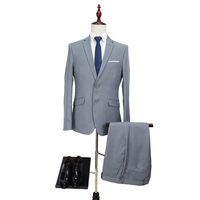 Ready to Ship In Stock Fast Dispatch Pant Coat Design Men Wedding Suits Slim Fit Business two Piece
