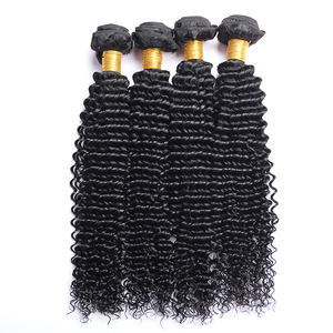 100% Indian Kinky Curly Remy Virgin Hair Weave Full Cuticle Aligned Kinky Hair Weave