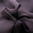 pure silk fabric purple heavy silk chiffon fabric for dress