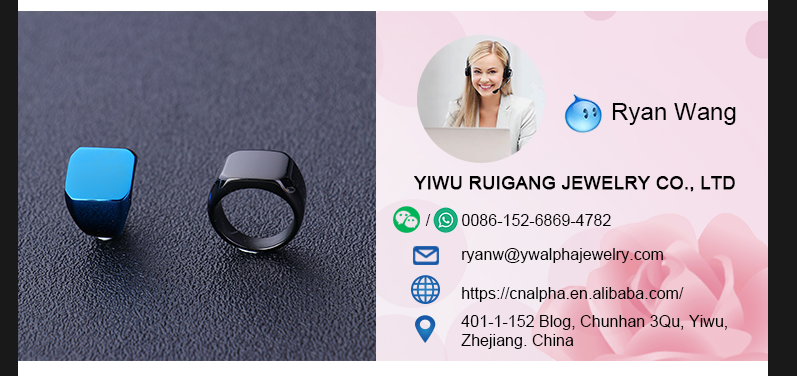 Ruigang Jewelry 11.5MM Stainless Steel Solid Polished Engagement Mens Fashion Weeding Ring, OEM/ODM