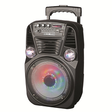 "IQSound IQ-3078DJBT <span class=keywords><strong>DJ</strong></span> Speakers Draagbare PA Systeem 8 "", Bluetooth Veranderende Dancing LED Verlichting"