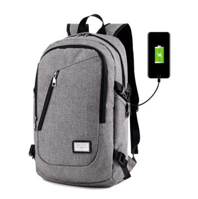 Y0099 модные Оксфорд водонепроницаемый прочный мешок школы рюкзаков для ноутбука смарт-рюкзак сумка для зарядного устройства