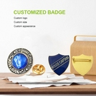 Pin Badge [ Flag Badge ] Badges Company Badge Design Digital Rotary Blank Clothing 3D Metal Round School Sports Vehicle Army Flag Plane Football Rosette Custom Pin Badge
