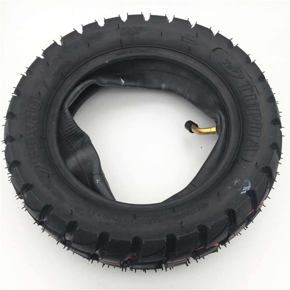 Off-road <strong>Tire</strong> 10 inch Pneumatic <strong>Tire</strong> Inner Tube 10X3.0-6 80/65-6 Electric Scooter ZERO 10X and Mantis Tyres
