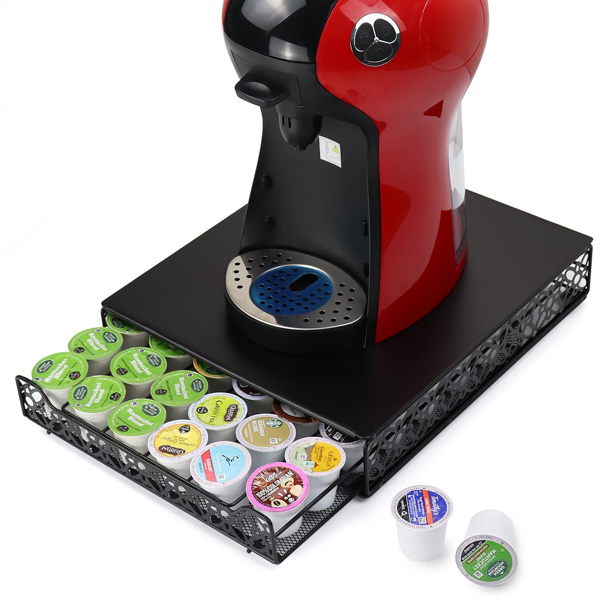 Новый дизайн серебряный 30 шт. Keurig k чашки кофе капсулы pod хранения ящика держатель