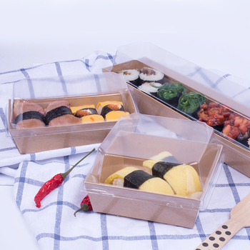 disposable cake one time use cardboard box sushi