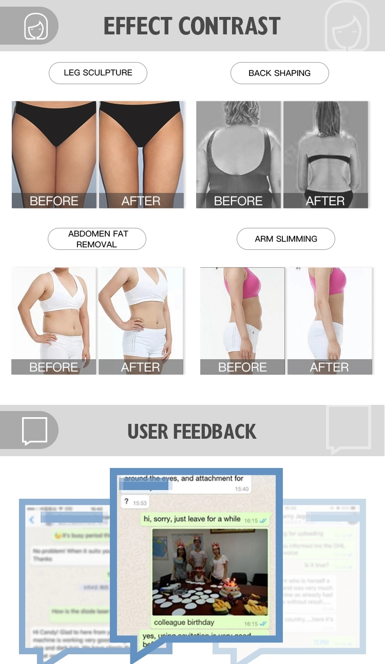 New Product Ideas 2020 Cavitation Body Slimming Beauty Machine Made In China