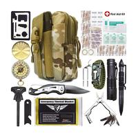 China Manufacturer supply private label survival kit camping & survival kit set