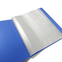 Chinese Manufacturer Stationery Folders Clear 20 Pocket A4 PP Display Book File