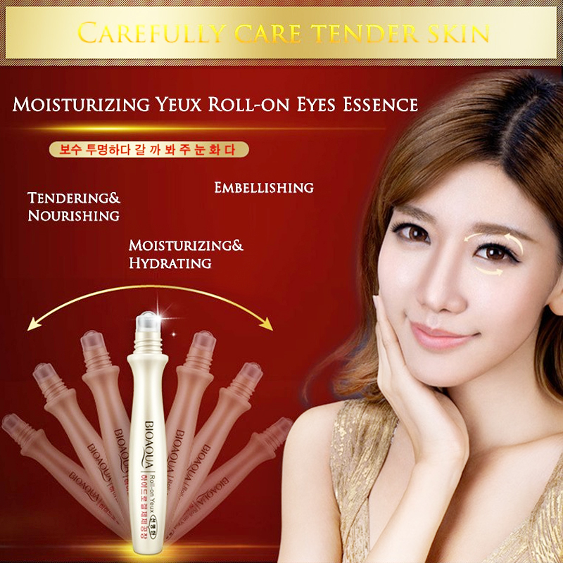 private label BIOAQUA moisturizing nourishing Anti-Puffiness eye essence