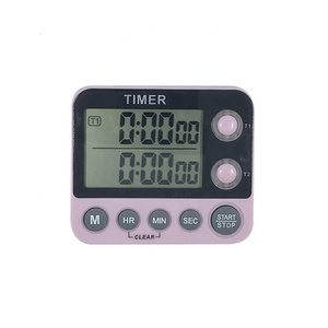 Dual-Channel Digital Countdown Timer For Kitchen
