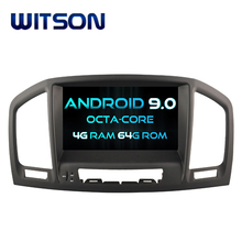 WITSON Octa - Core (8 Core) android 9.0 DOUBLE DIN รถ DVD GPS สำหรับ OPEL INSIGNIA 2008-2011 4G ROM 1080 P TOUCH SCREEN 32 GB ROM