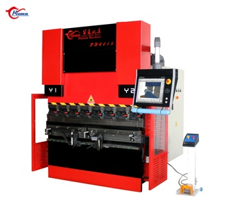 wD67K 125tons hydraulic CNC brake press 2.5thickness sheet metal cnc delem system bending machine