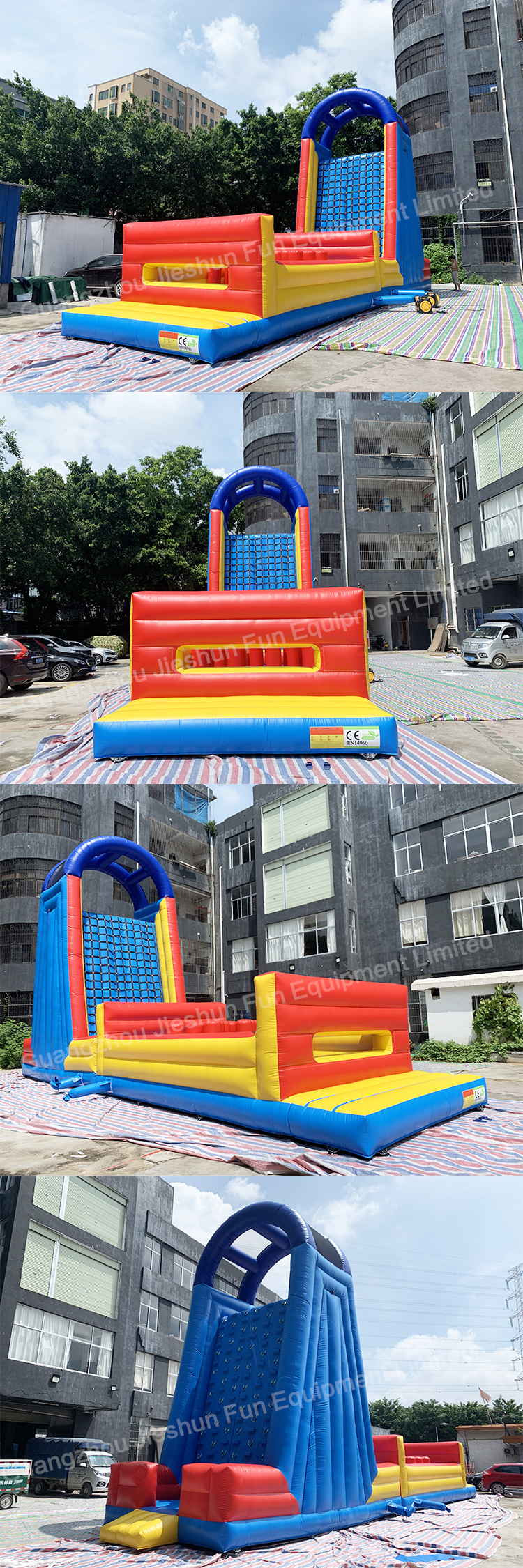 Inflatable obstacle (3)