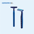 Durable Stainless Steel Swedish Disposable Twin Blade Shaver Razor