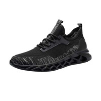 unique black travel sport shoes for men with good price
