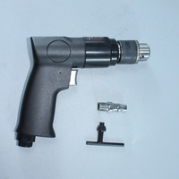 "3/8"" 1800rpm High-speed Cordless Pistol Type Pneumatic Gun Drill Reversible Air Drill Tools pneumatic drill air"
