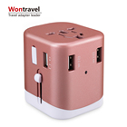 Factory custom indian hot products travel adapter promotion items gifts sets wedding return gifts