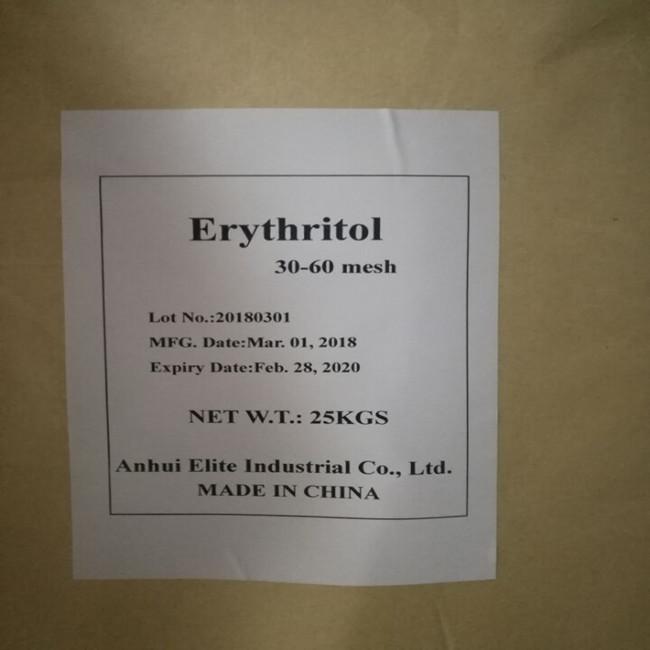 Natural Sugarless sweetener Erythritol Eritritol