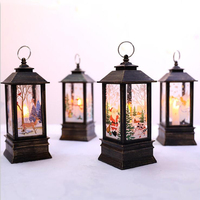 2020 New Arrival Lantern Christmas Glitter Lamp Party Supplies Festival Xmas Gift Outdoor Decoration Tree Ornaments