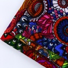 Free sample 100% polyester ethnic style paisley velvet fabric with designs textile for indian clothing and sofa cover