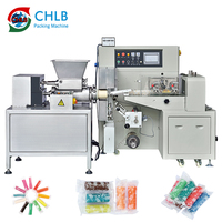 Automatic playdough caly fondant extrusion and packing machine