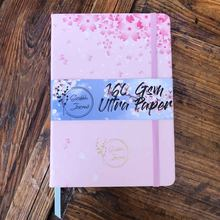 SAKURA dot блокнот в сетку, Точечный светильник, розовая печать и тиснение фольгой золотого цвета-бумага 160 г/см, альбом для рисования(Китай)